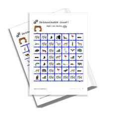 KiddyBlocks | Obrázkové bludiště 1 - zvířátka v zoo Animals Images, Zoo Animals, In The Zoo, Printables, Print Templates