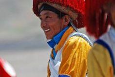 Local Tibetan. #Nagchu Horse Racing Tour