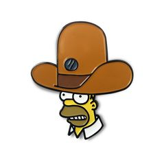 0a402026429 HOMER S OVERSIZED NOVELTY HAT ENAMEL PIN