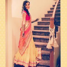 Mehendi outfit - by Chamee n palak