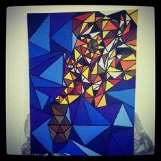 Pote dos desejos - acervo Acrilica - tela 90X70 arte -art