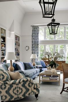 I've been trying to freshen up our living room and I cannot for the life of me decide whether to keep things neutral or go blue. I have been pondering this for a YEAR! I can make decisions for everyon