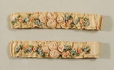 Garters    Date:      1875–1925  Culture:  American or European  silk   Gift of Miss Mercedes de Acosta