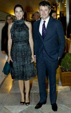 Crown Princess Mary and Crown Prince Frederik attended the reception in Rio De Janeiro regarding the Rio Oil Expo