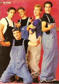 Ew. I can't believe I was a fan for a hot minute...although, I was a huge fan of overalls from 2000-2001...