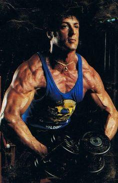 Body goals - Sylvester Stallone