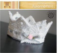 Corona de crochet