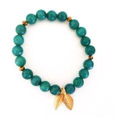 Happiness / Freude via Jai! Jewellery. Click on the image to see more! Yoga Armband, Green Agate, Gemstone Bracelets, Beaded Necklace, Happiness, Jewellery, Gemstones, Change, Rhinestones