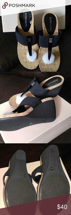 New sandals Very cute bcbg wedge sandals BCBGeneration Shoes Sandals