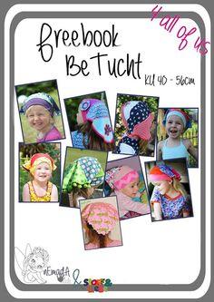 Freebook Kopftuch für Kinder KU 40 - 56cm
