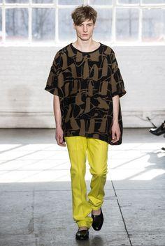 Fall 2014 Ready-to-Wear - Duckie Brown