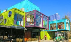 Bright and bold QUO shipping container mall springs up in Buenos Aires BZZ Arquitectura's shipping container mall QUO Container Center in Buenos Aires – Inhabitat - Green Design, Innovation, Architecture, Green Building