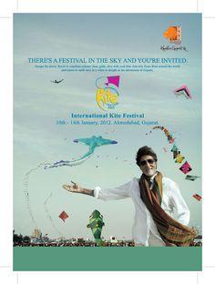 International Kite Festival - Ahmedabad - http://www.ahmedabadkiteflyers.org Gujarat, India