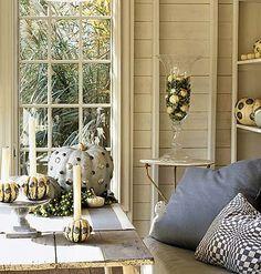 Cottage Living nailhead pumpkins.