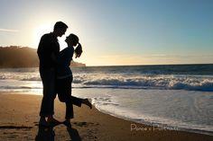Engagement session, Baker Beach, San Francisco, engagement photo ideas www.poncesportraits.com Ponce's Portraits Creative Wedding and Portrait Photographer