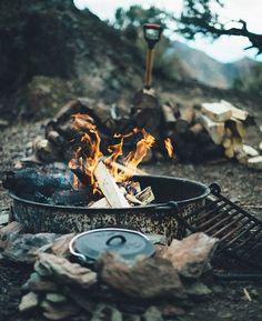 Breakfast is served #campbrandgoods #keepitwild  Photo by: @greggboydston