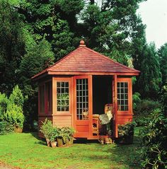 Garden Houses, Small Buildings, Cabin Fever, Play Houses, Pavilion, Porches, Home Furnishings, Gazebo, Outdoor Living