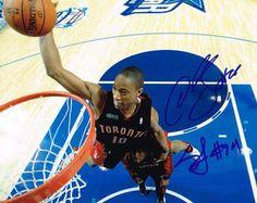 DeMar DeRozan & Sonny Weems Autographed 8x10 Photo #SportsMemorabilia #TorontoRaptors