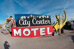 City Center MOTEL Las Vegas N V .