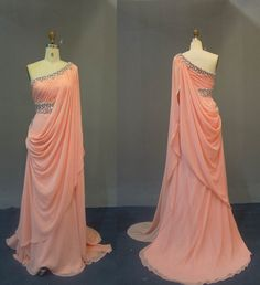 Hey, I found this really awesome Etsy listing at https://www.etsy.com/listing/192423191/elegant-oneshoulder-prom-dress-beads