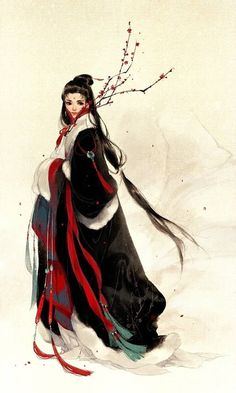 Kai Fine Art is an art website, shows painting and illustration works all over the world. Chinese Painting, Chinese Art, Chinese Style, Character Art, Character Design, Art Asiatique, Illustration Art, Illustrations, Tatoo Art