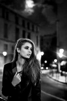 street shot with model night - Google Search