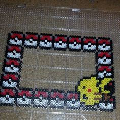 This is cute and easy - I think it would be a fun random project if I was in the mood for a quick Perler bead jaunt.