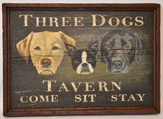WMPM Signs - Custom antique and century style trade, tavern and pub signs that can feature your pet, your name, animal or any subject matter. Pub Signs, Shop Signs, Vintage Signs For Sale, Painted Signs, Hand Painted, Wood Craft Patterns, Antique Signs, Vintage Typography, Pet Birds
