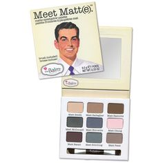 theBalm® theBalm 'Meet Matt(e)®' Eyeshadow Palette (675 MXN) ❤ liked on Polyvore featuring beauty products, makeup, eye makeup, eyeshadow, beauty, eyes, palette eyeshadow and thebalm