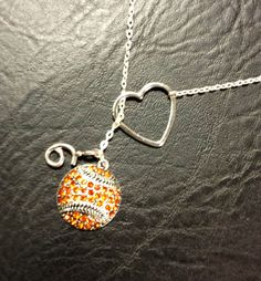 SF Giants Baseball Lariat Necklace with by melissawuest on Etsy, $27.50