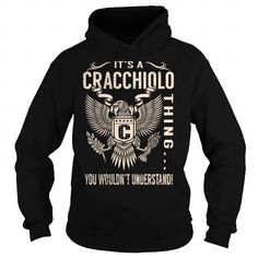 I Love Its a CRACCHIOLO Thing You Wouldnt Understand - Last Name, Surname T-Shirt (Eagle) T-Shirts