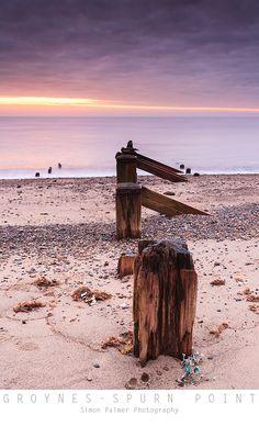 Groynes - Spurn Point, UK