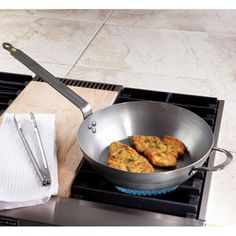 Shop de Buyer Mineral Pan, Saute Pan at CHEFS.    j'adore - the french and their cookware.  simple. no non-stick coating.  for the serious chefs.