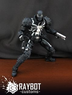 Marvel Legends custom Agent Venom figure by Raybot Customs - Spider ...