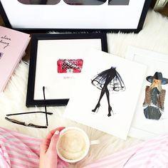 Fun fashion prints via Nichole Ciotti's Instagram