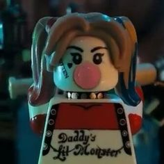 Thank You Lego for putting Ya Harley in your new #SuicideSquadLegoMovie…