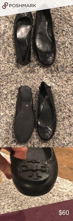 f6e320d62aa Tory Burch flats This look almost brand new! Hardly worn black Tory Burch  flats!