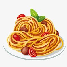 Looking for a pasta maker but are confused about the different types that are available? If so read our guide for a best pasta maker. Food Png, Spaghetti, Food Clipart, Pasta Maker, Food Icons, Fusilli, Bratwurst, Food Drawing, Food Illustrations