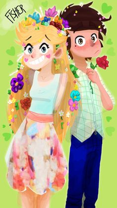 Star and Marco Starco, Jackie Lynn Thomas, Star Y Marco, Fanart, Star Wars, Disney And More, Star Butterfly, Heroes Of Olympus, Star Vs The Forces Of Evil