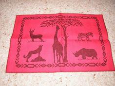 On Safari Table Mat