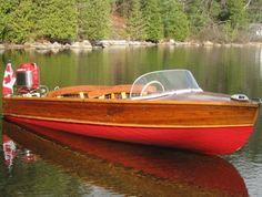 Outboard Boat Motors, Runabout Boat, Boat Restoration, Wooden Boat Building, Boat Engine, Vintage Boats, Old Boats, Wooden Boats, Fishing Boats