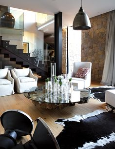 Elegant Living Room Johannesburg Contempary Home