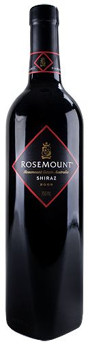 Rosemount Shiraz- exactly what I'm drinking right now :o)