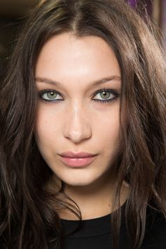 Bella Hadid - Alexander Wang Fall 2017 Ready-to-Wear Backstage Beauty