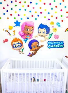 Check out how I'm giving our baby's room a makeover and planning his 1st birthday party with the help of Fathead #ontheblog today! #AD  #Fathead