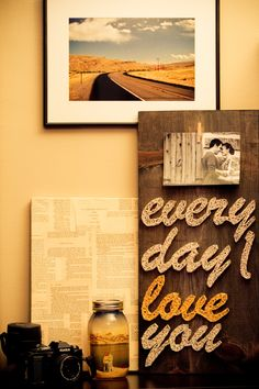 Everyday I Love String Art by FORTHELOVECO on Etsy, $50.00