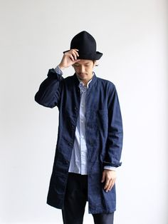 A VONTADE A VONTADE STAND COLLAR DUSTER COAT 商品詳細 Strato