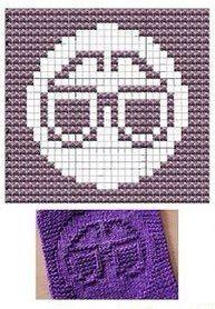 Glasses Knit Dishcloths Pattern