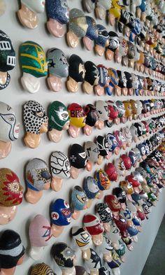 museo de la lucha libre Blue Demon, Luchador Mask, Mexican Wrestler, Wrestling Posters, Sporting Live, Mexican Art, Vintage Art, Cool Designs, New Gadgets