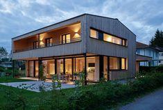 Single family house Z / A-Dornbirn 20x30 House Plans, Dream House Plans, Shed Cabin, Barns Sheds, Home Design Plans, Exterior Design, Future House, Modern Farmhouse, Building A House
